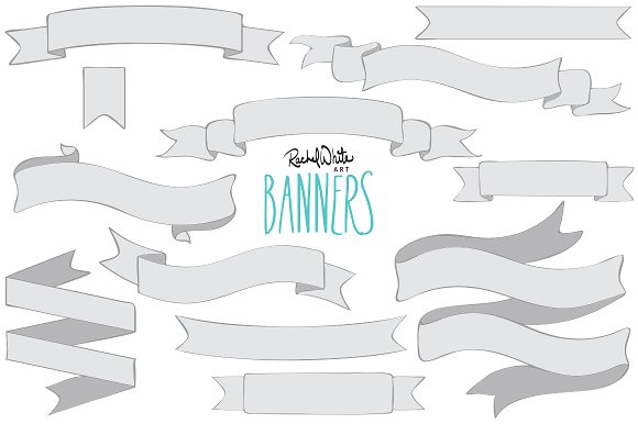 Banners clipart vector, Banners vector Transparent FREE for.