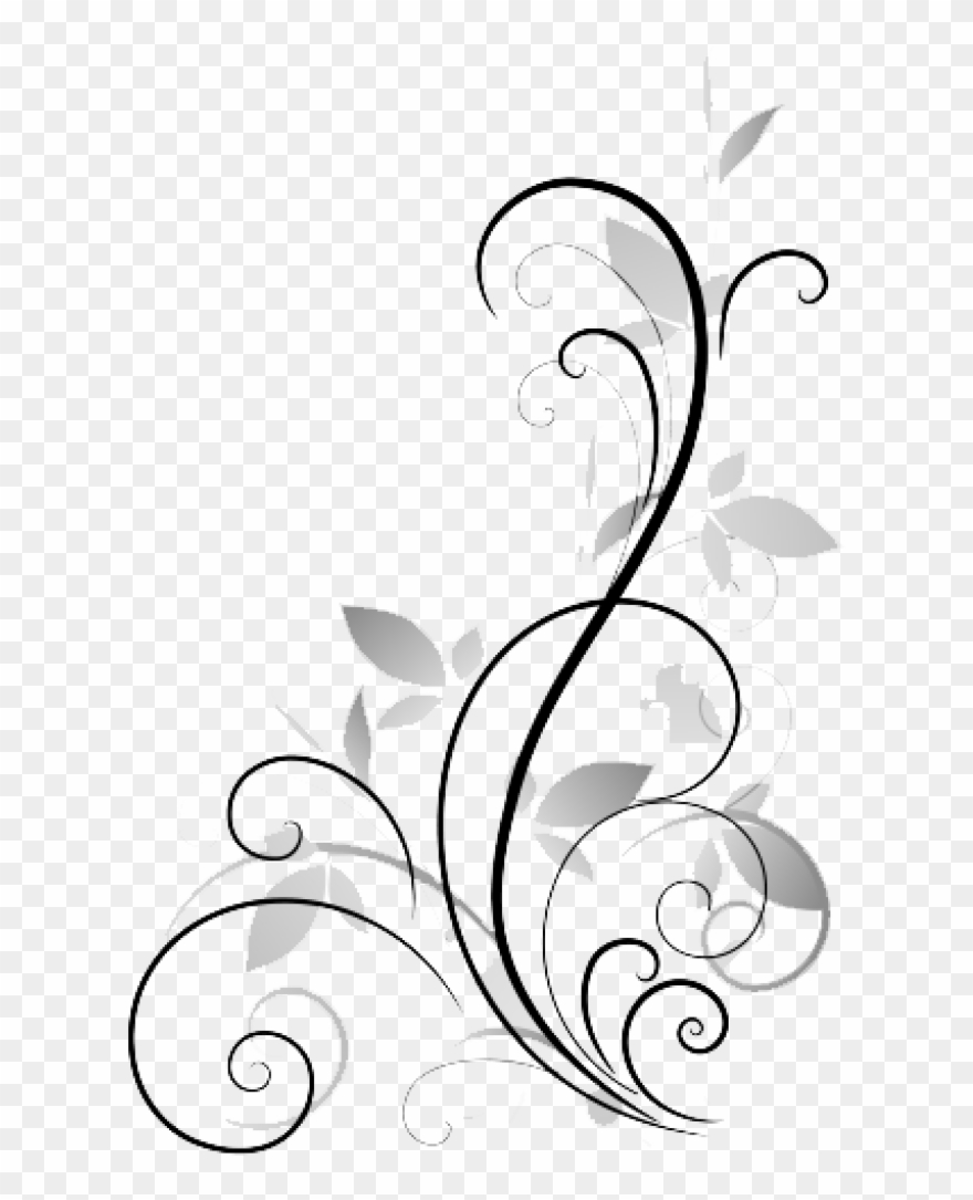Flower Display Art Abstract Vector Royalty Free Stock.