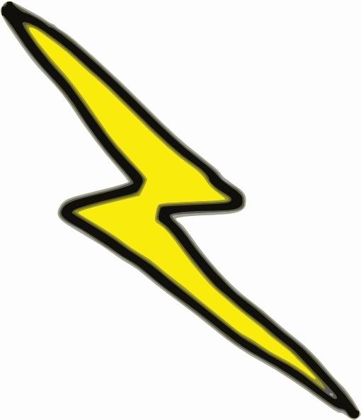 Lnxwalt cheap lightning bolt clip art free vector in open.