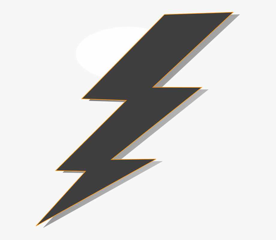 Transparent Lightning Bolt Vector, Cliparts & Cartoons.