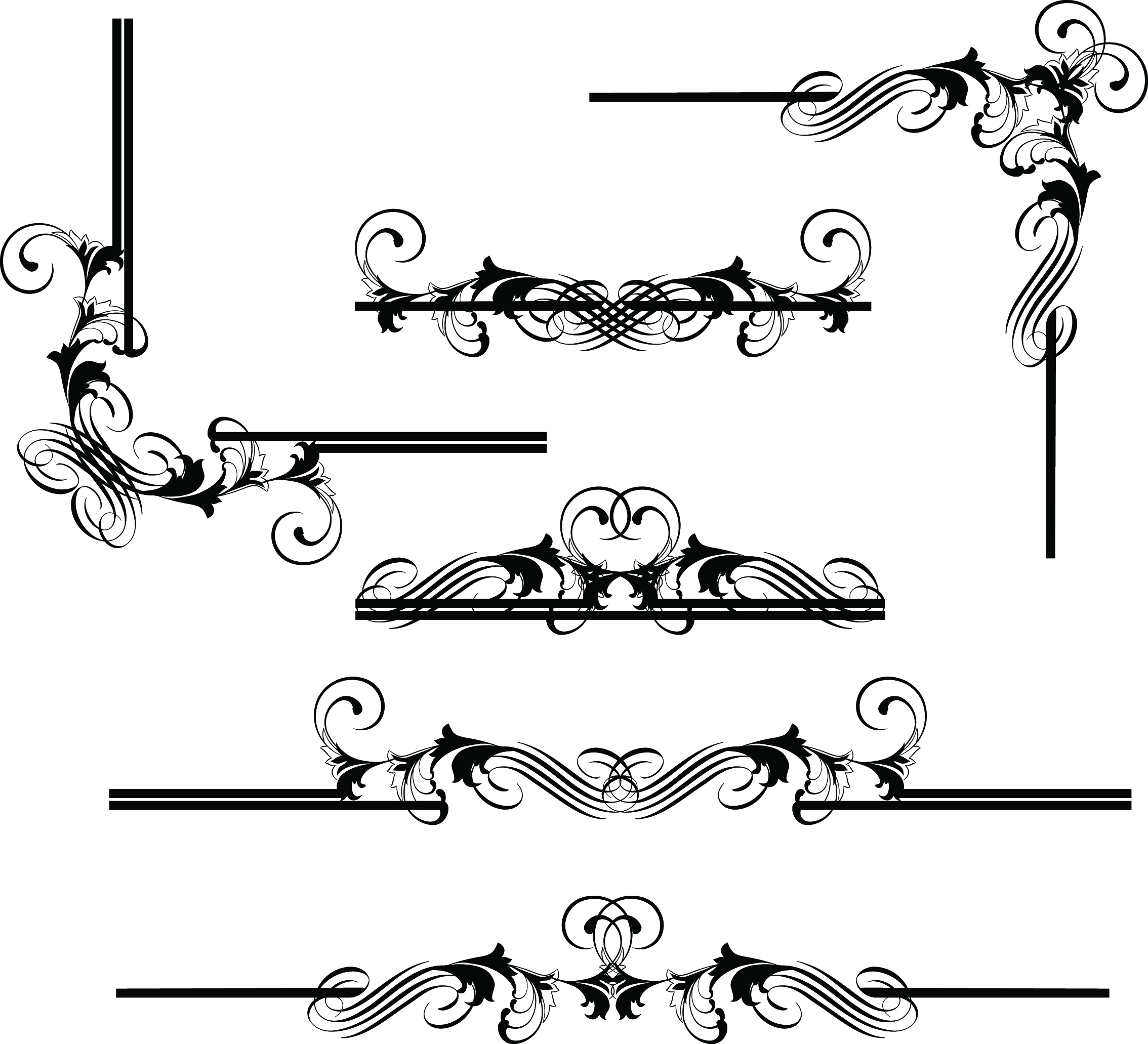 Free Border Line Design Free Download, Download Free Clip.