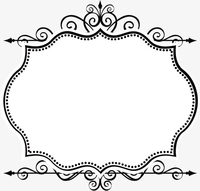 Simple Borders Vector, Border Vector, Vector Ancient, Frame.