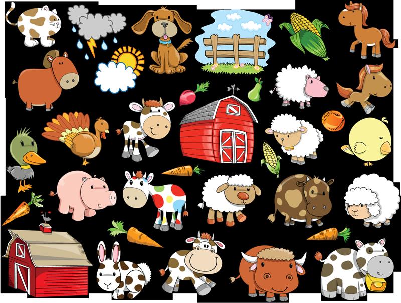 Cartoon Animals Vector Free Download , Transparent Cartoon.