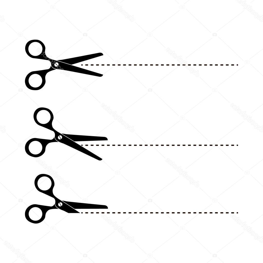 Top Vector Scissors Cut Out Vector Image » Free Vector Art.