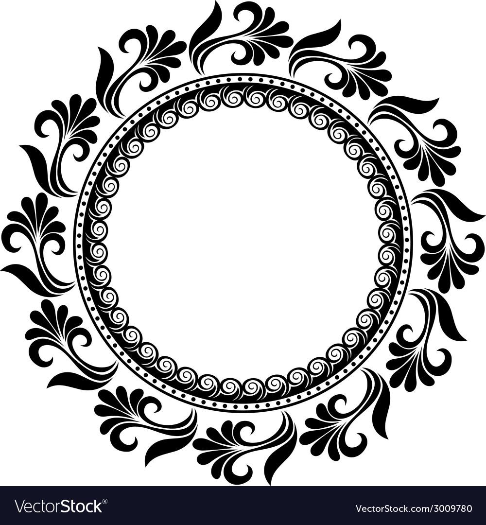 circle design vector.