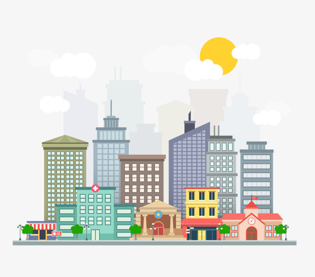 The best free Building vector images. Download from 1131.