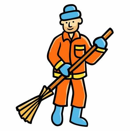 cleaning clipart road sweeper #181.