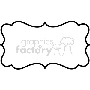 lines frame swirls boutique sign design border vector clipart. Royalty.