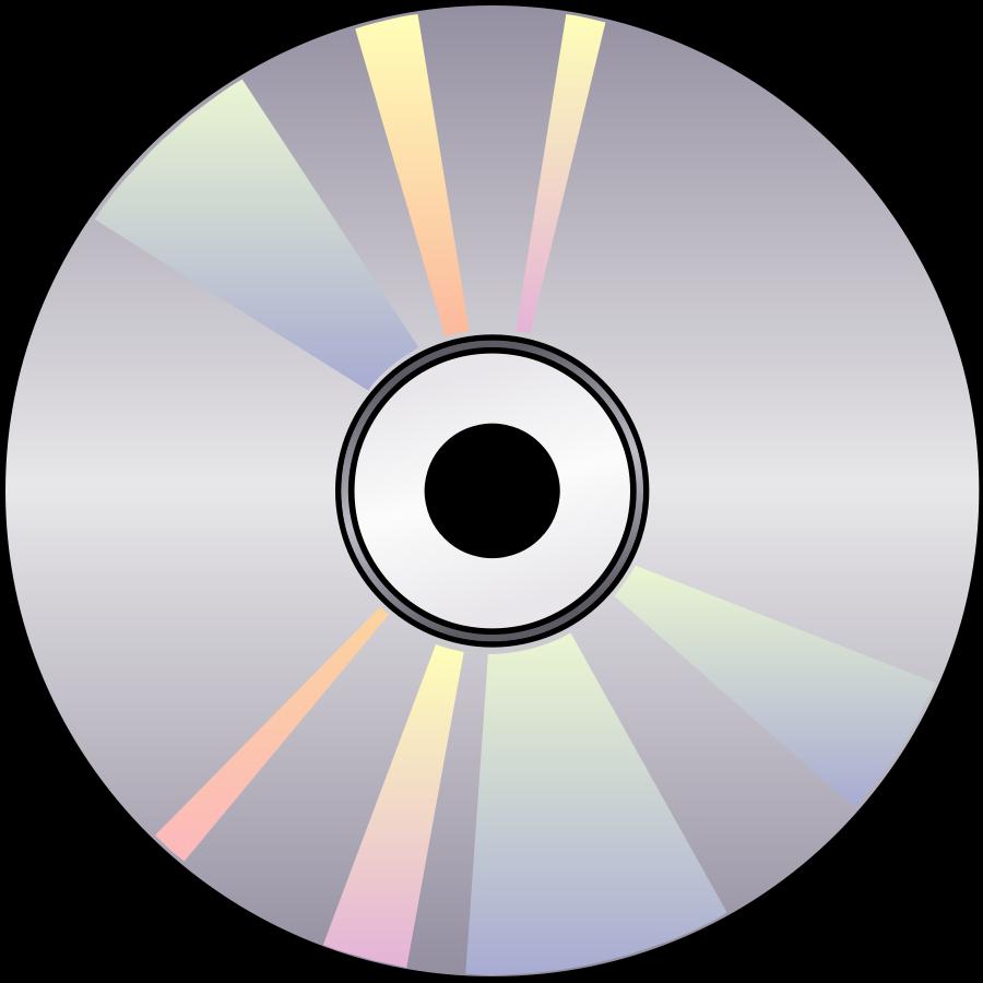 Compact Disk SVG Vector file, vector clip art svg file.