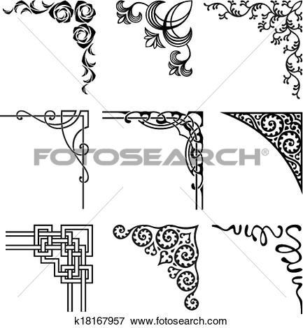 Corner Clip Art EPS Images. 103,185 corner clipart vector.