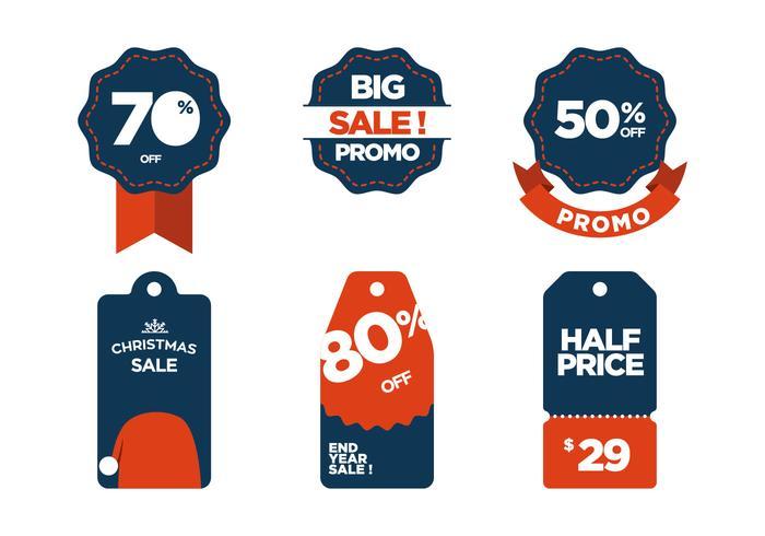 Vector Sale Symbols.