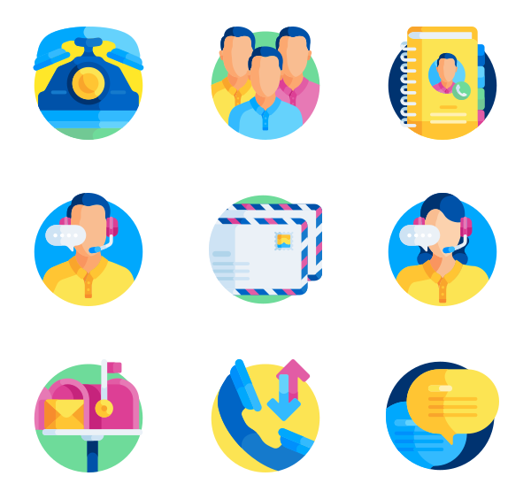Email Icons.