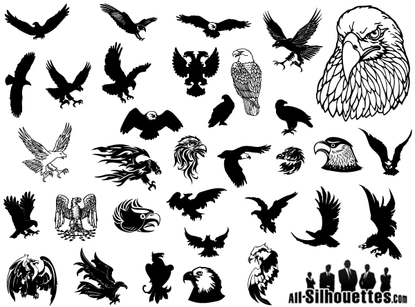 Eagle Vector Clip Art Free.