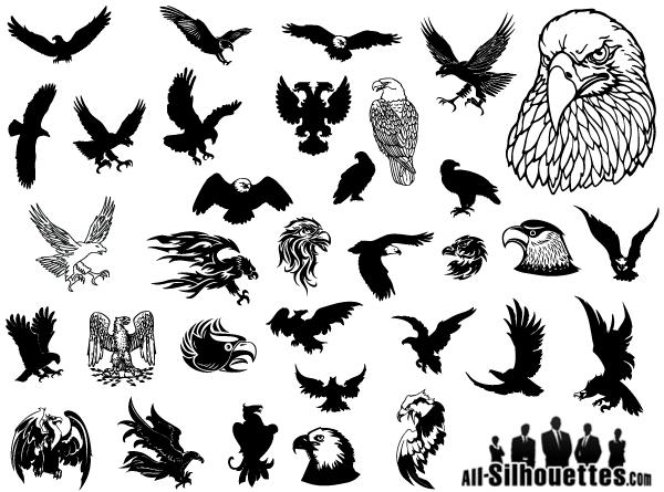 Eagle Vector Clip Art Free.
