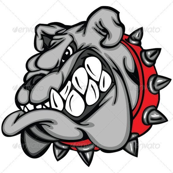 Image result for clip art crazy bulldog eye.