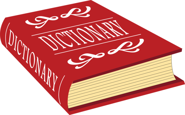 Kids Dictionary Clipart.