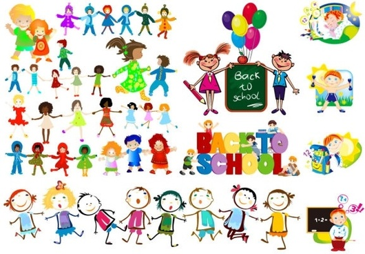 Vector children free vector download (1,218 Free vector) for.