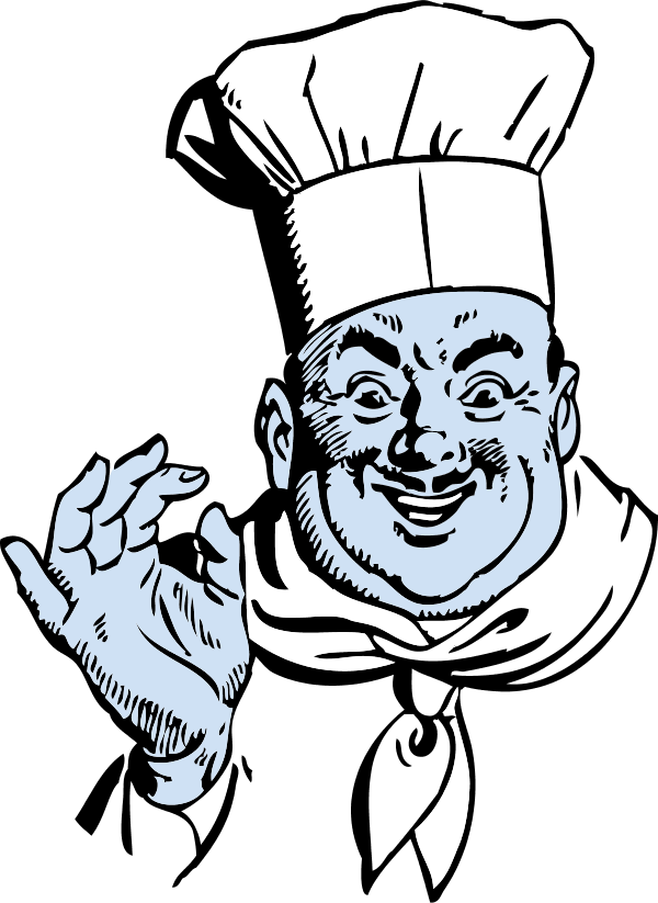 Italian cuisine Chef Pizza Clip art.