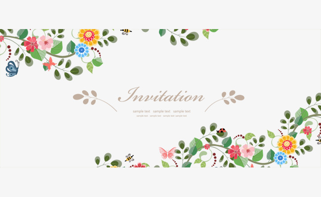 Floral Border Vector at GetDrawings.com.