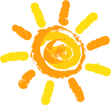 Summer sun clipart free vector download (6,802 Free vector.