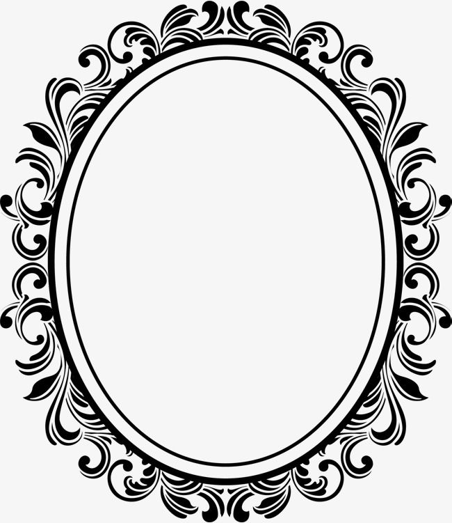 Oval Frame, Ellipse, European, Cartoon PNG and Vector with.