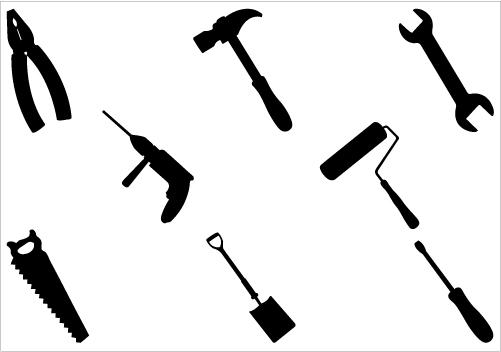 441 Handyman free clipart.