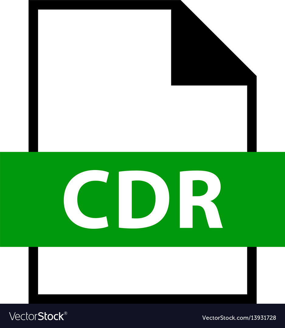 File name extension cdr type.