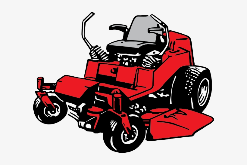 Lawn Care Clipart Pix Vector Black And White.