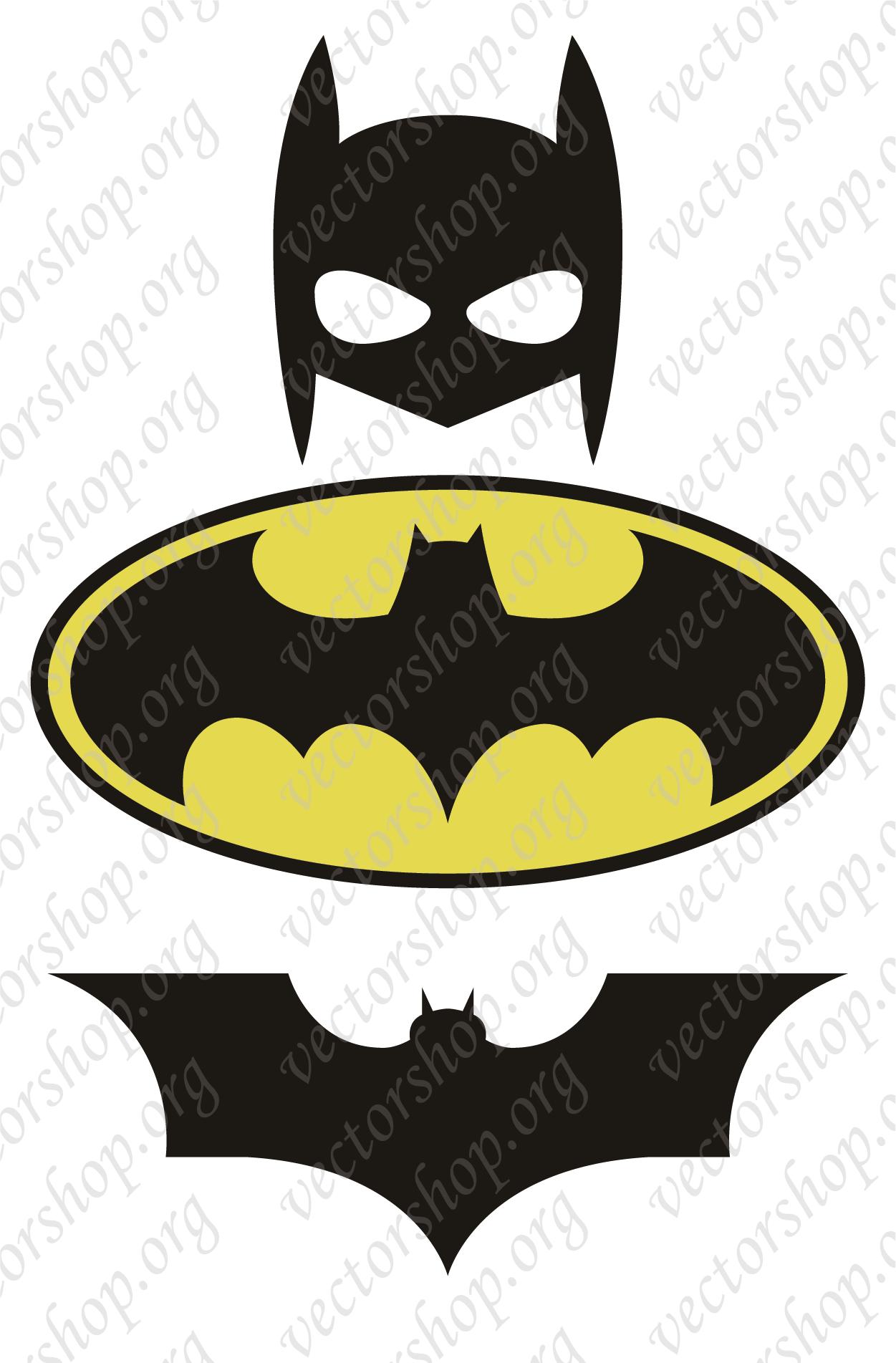 Batman Vector ClipArt.