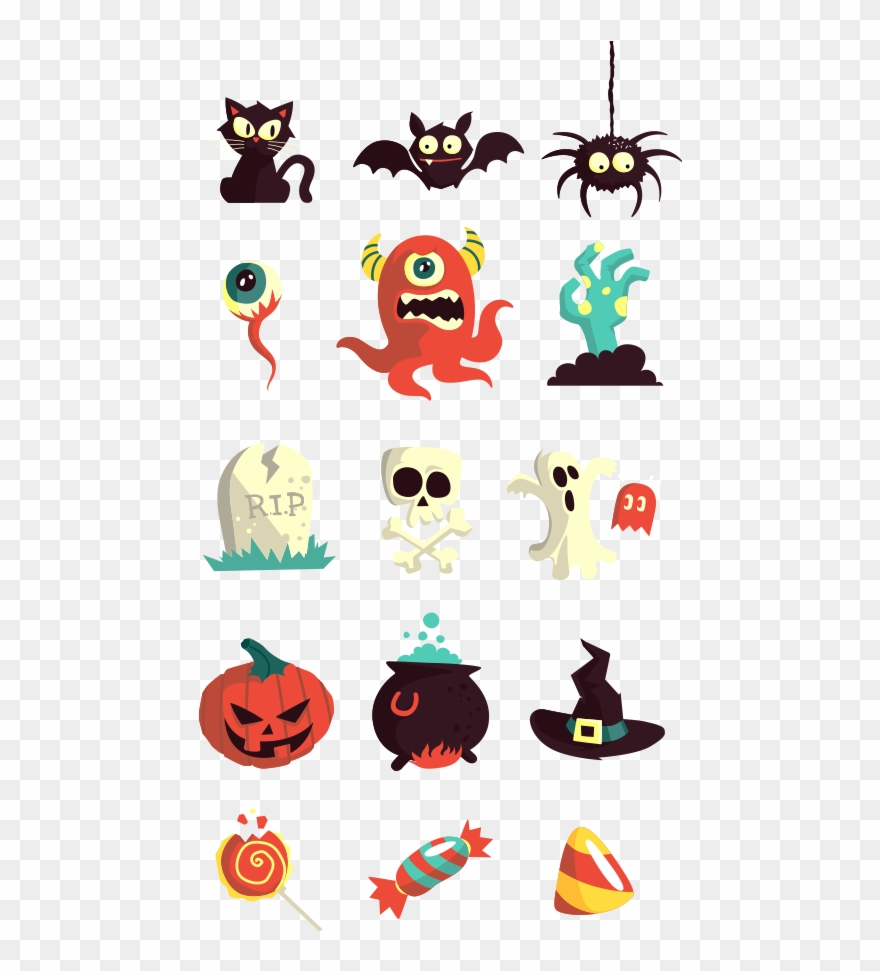 Halloween Vector Art Pack.