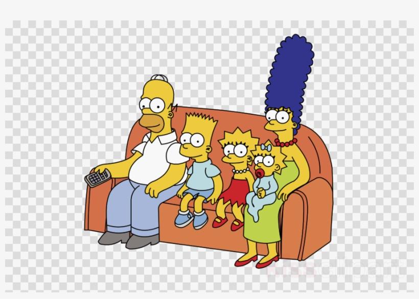 Simpsons Family Vector Clipart Bart Simpson Homer Simpson.