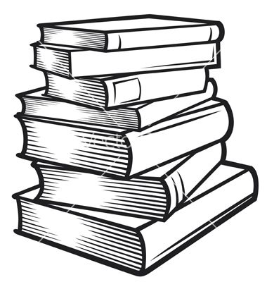 Stack of books vector 1170954.