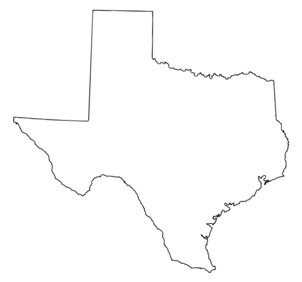 Texas Outline Vector at GetDrawings.com.