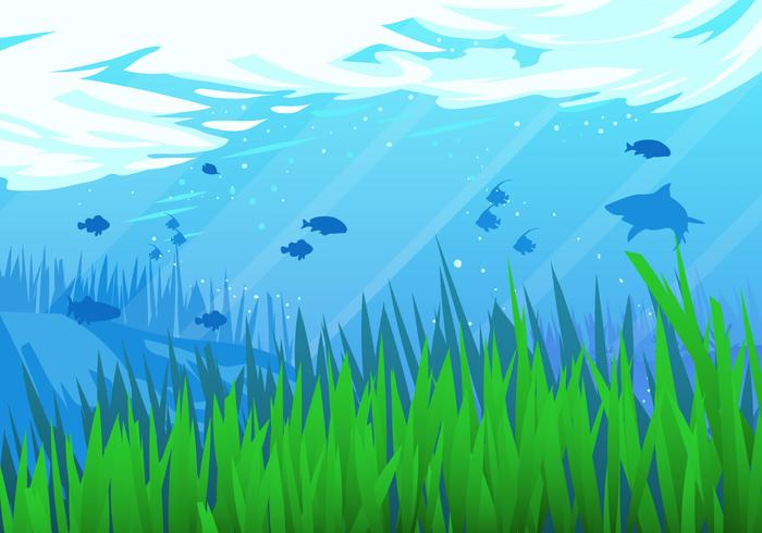 Under the Sea Vector Scene.