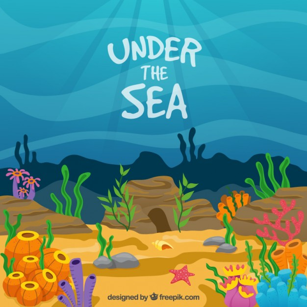 1297 Under The Sea free clipart.