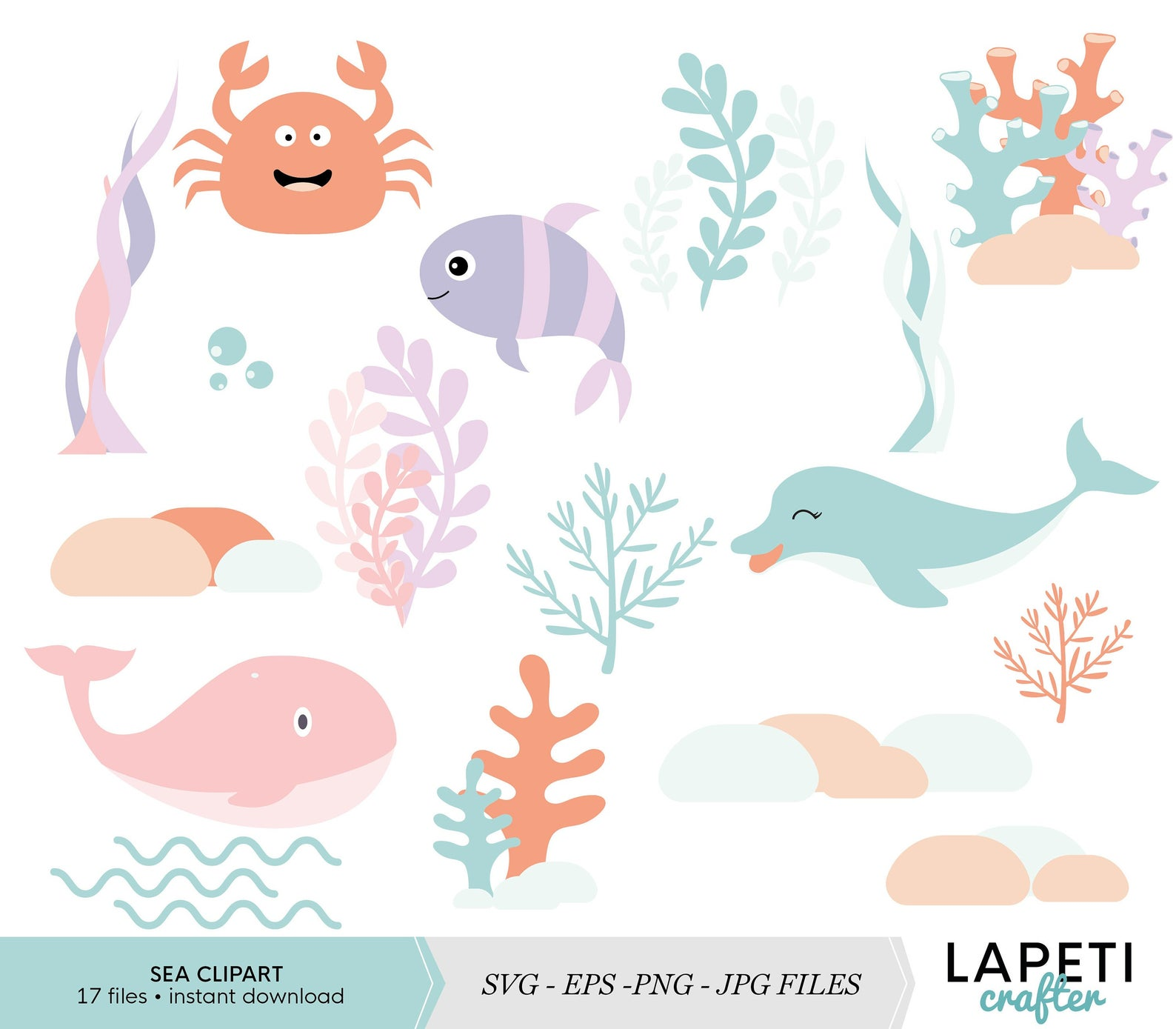 Pin en Sea clipart and digital designs.