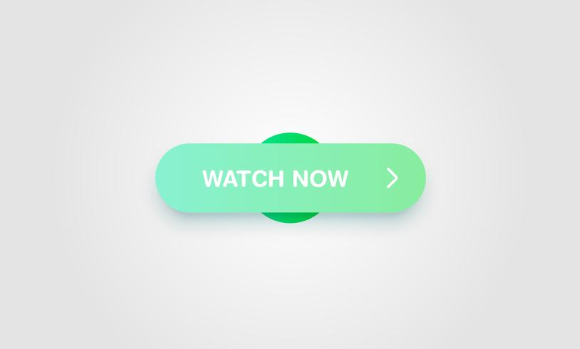 Colorful shiny and clean button for websites and online.