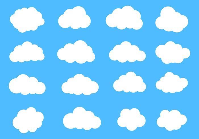 Vector Clouds Set.