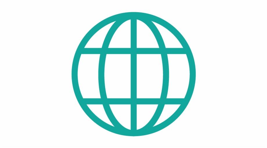 Icon Internet 01 Copy Globe World Png Vector.