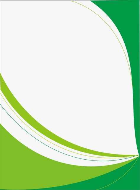 Vector Poster Template, Green Poster Template, Background.