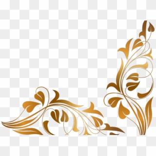 Free Floral Border Designs Png Transparent Images.