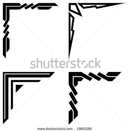 Swirl corner border design images Free vector for free.