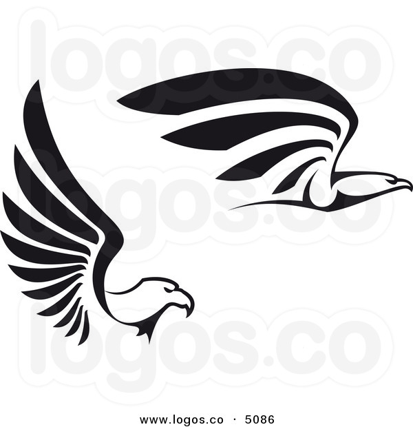 Eagle Head Clipart Black And White.