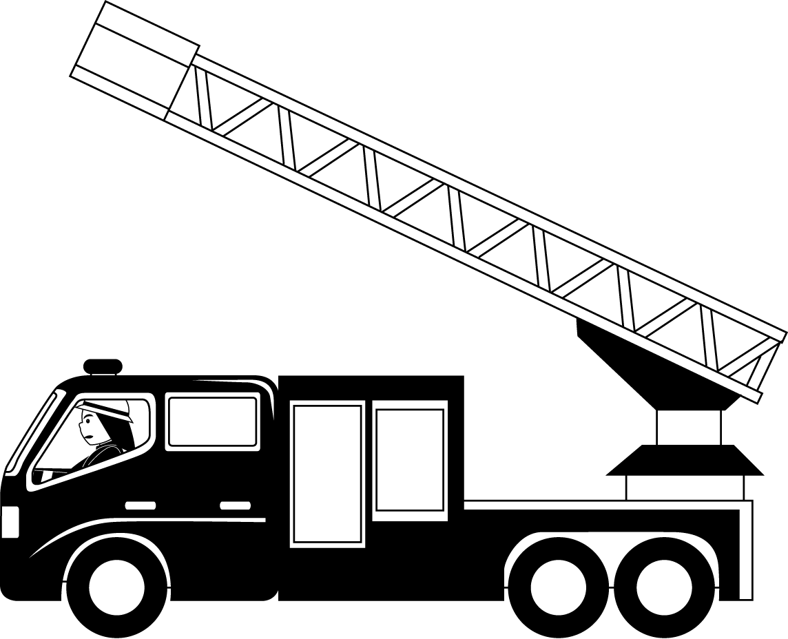 Free Fire Truck Silhouette Vector, Download Free Clip Art.