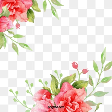 Library of free floral background graphic transparent png.