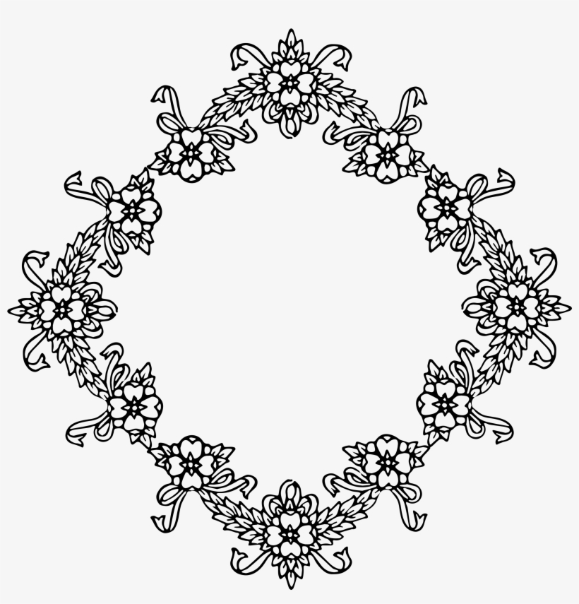 Diamond Clipart Frame.