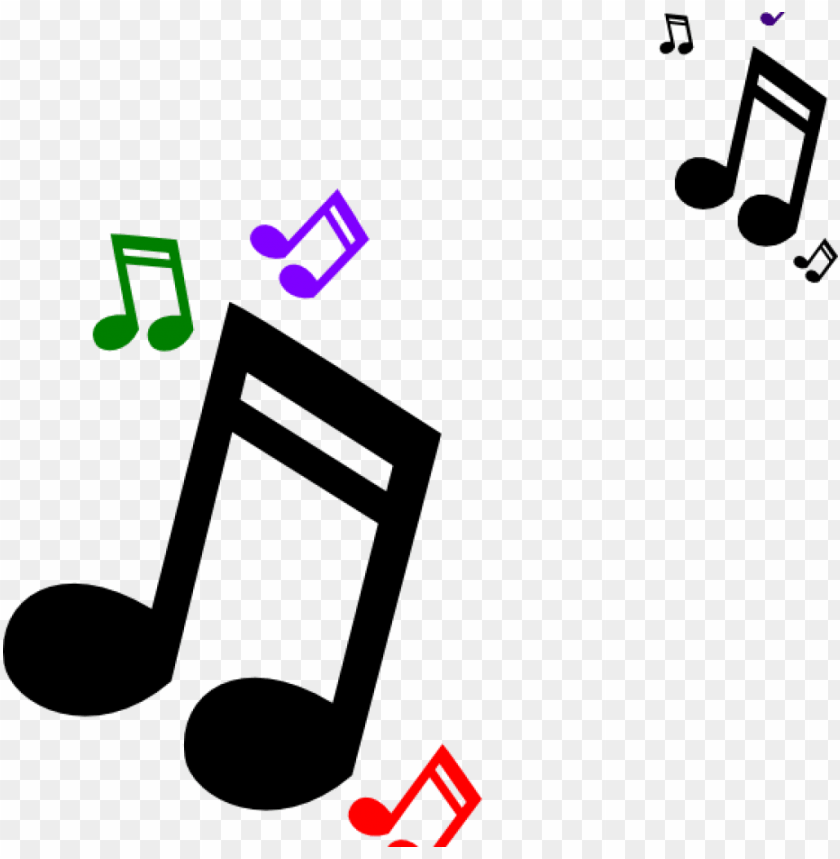 music notes clipart colored clip art at clker vector.