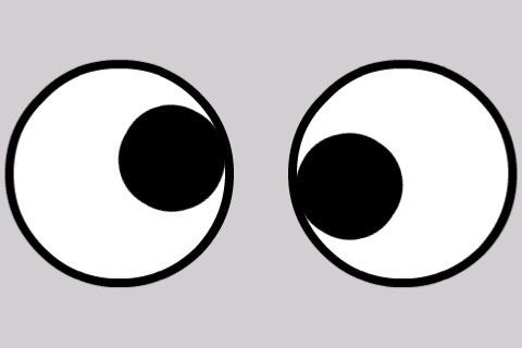 Googly Eyes Clip Art.