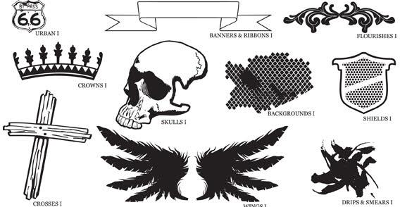 Clipart vector graphics.