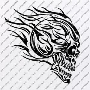 Skull Svg File.